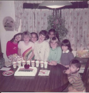 Vicki's 8th Birthday Party